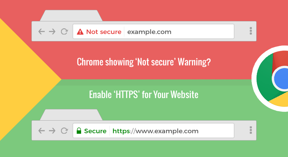 "HTTPS, Chrome browser will begin labeling sites that do not use HTTPS as ""Not secure"""