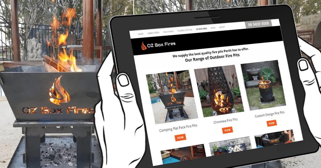 Premium Perth fire pits